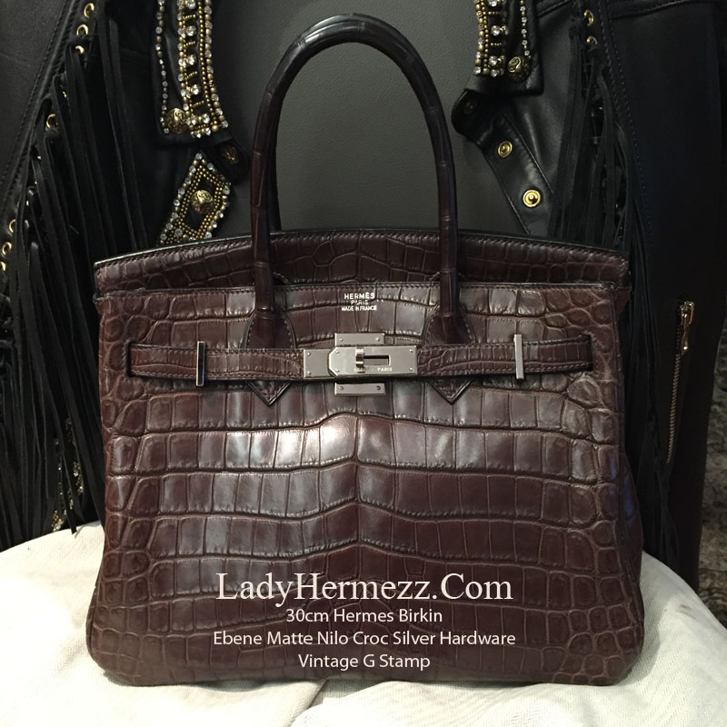 30cm Hermes Birkin GRIS TOURTERELLE in TOGO Leather with Gold Hardware  £12 553c54dbd1a1